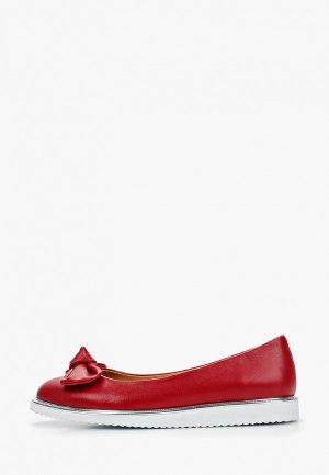 Балетки Clovis. Цвет: красный