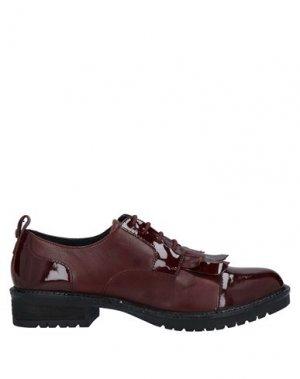 Обувь на шнурках APEPAZZA. Цвет: красно-коричневый