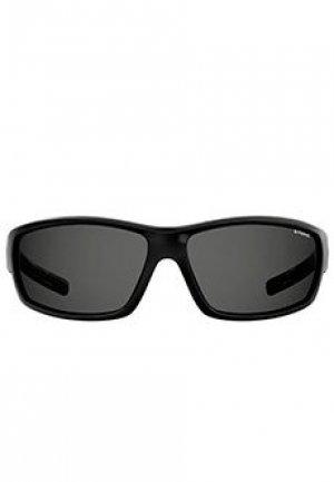 Солнцезащитные очки POLAROID SPORT. Цвет: черный