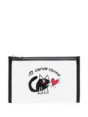 Прозрачный кошелек Blackie 10 CORSO COMO. Цвет: нейтральные цвета