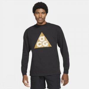 Мужская футболка с длинным рукавом Nike ACG - Черный