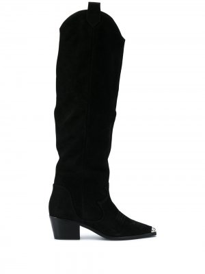 Knee-high boots Senso. Цвет: черный