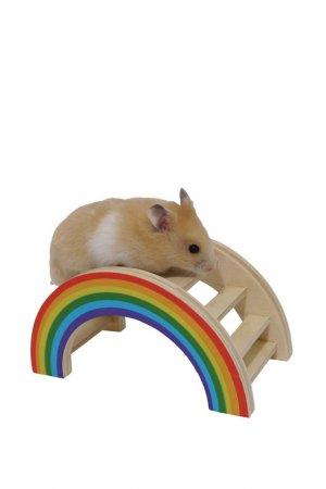 Игрушка для грызунов ROSEWOOD. Цвет: разноцветный