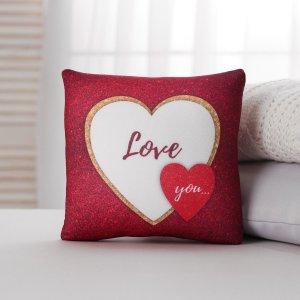 Подушка-антистресс love you, с открыткой, 22х20 см mni mnu