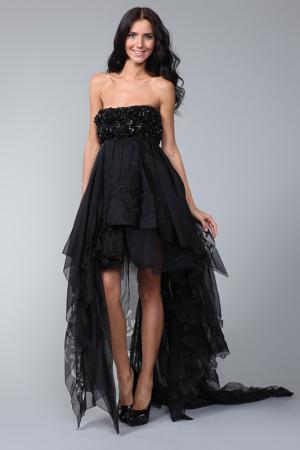 Платье вечернее Jasmine Di Milo. Цвет: черный