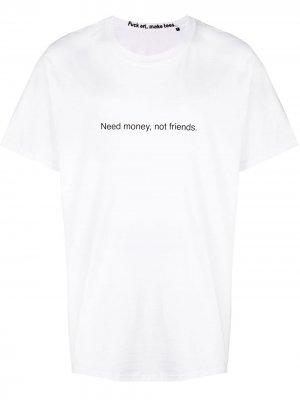 Front script T-shirt F.A.M.T.. Цвет: белый
