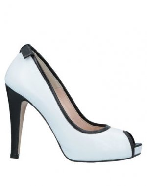 Туфли ALBERTO BRESSAN. Цвет: белый