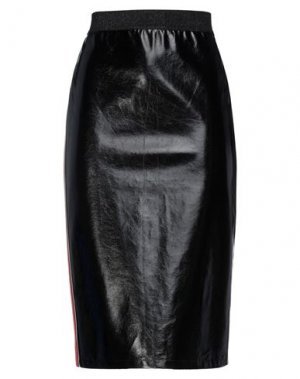 Юбка миди HANITA. Цвет: черный