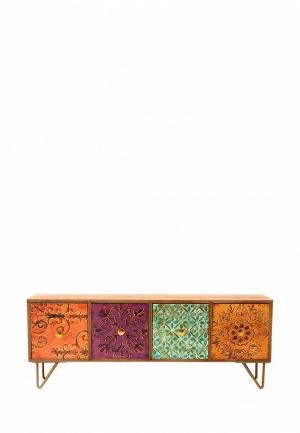 Шкатулка для украшений Русские подарки. Цвет: коричневый