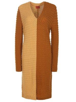 Вязаное платье из шерсти MISSONI
