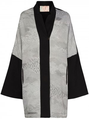 Пальто Jasemine с широкими рукавами By Walid. Цвет: серый
