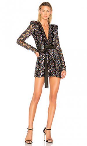 Мини платье miami nights Zhivago. Цвет: черный