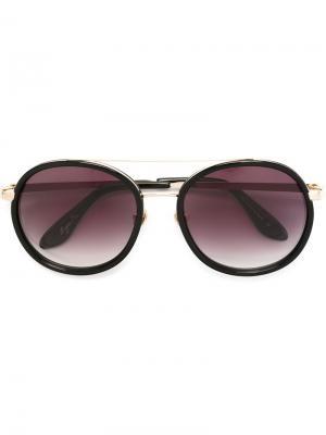 Солнцезащитные очки Valletta Frency & Mercury. Цвет: черный