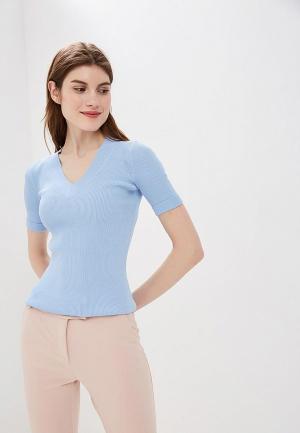 Пуловер Lusio. Цвет: голубой
