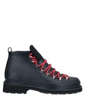 Полусапоги и высокие ботинки RAG & BONE. Цвет: черный
