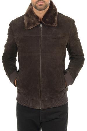 Куртка Arturo. Цвет: коричневый