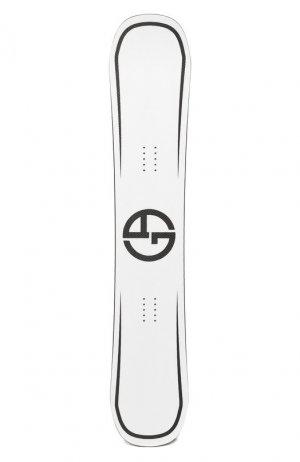 Сноуборд Giorgio Armani. Цвет: белый