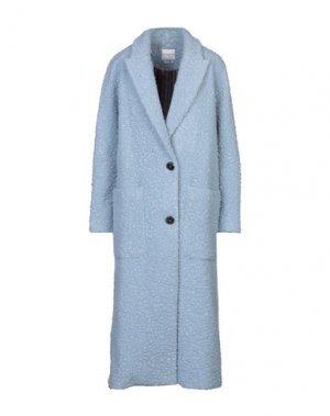 Пальто BALLANTYNE. Цвет: небесно-голубой