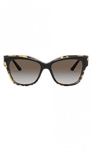 Солнцезащитные очки heritage prada monochrome logo. Цвет: черный