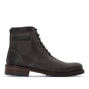 Ботинки кожаные LINO KAPORAL. Цвет: серый