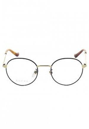 Корригирующая оправа GUCCI sunglasses. Цвет: желтый