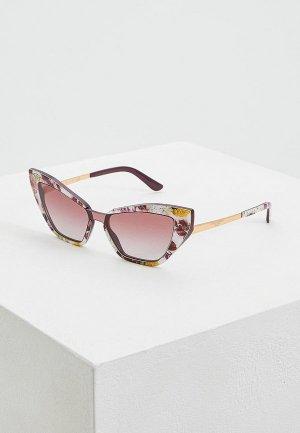 Очки солнцезащитные Dolce&Gabbana DG4357 32074Q. Цвет: розовый
