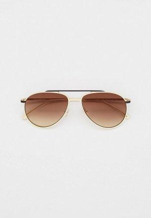 Очки солнцезащитные Karl Lagerfeld KL 305S 533. Цвет: серебряный