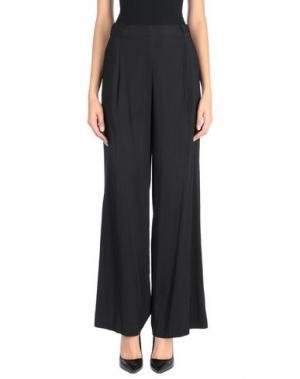 Повседневные брюки MALÌPARMI. Цвет: черный