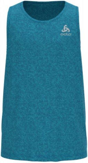 Майка мужская Run Easy, размер 46-48 Odlo. Цвет: голубой