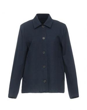 Легкое пальто STUTTERHEIM. Цвет: темно-синий