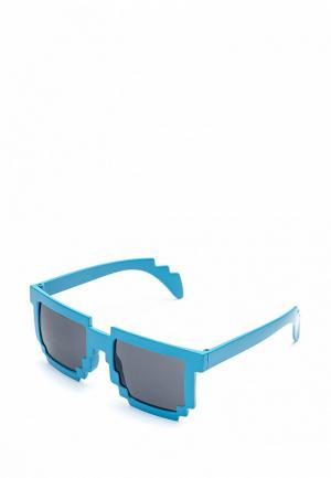 Очки солнцезащитные Maskbro. Цвет: синий