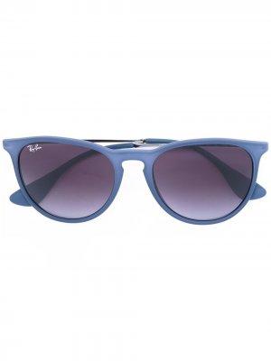 Солнцезащитные очки Erika Ray-Ban. Цвет: синий