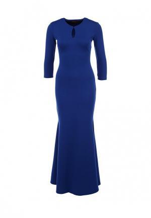 Платье Анна Чапман. Цвет: синий