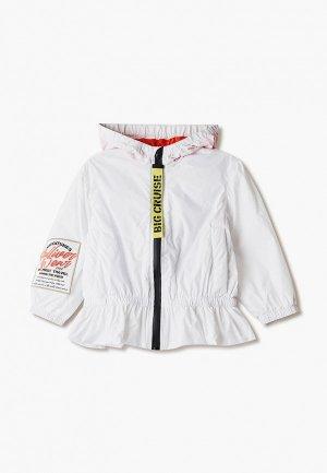 Куртка Gulliver. Цвет: белый