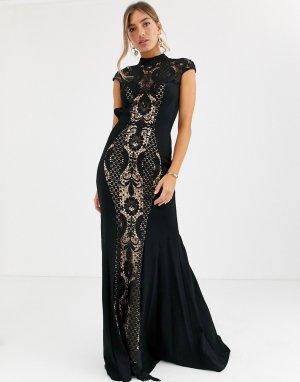 Кружевное платье -Мульти Jovani
