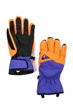 Перчатки Quiksilver Cross Glove. Цвет: разноцветный