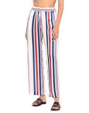 Пляжные брюки и шорты TWINSET. Цвет: темно-синий