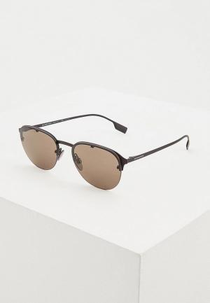 Очки солнцезащитные Burberry BE3103 1283/3. Цвет: черный