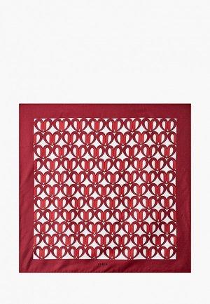 Платок Furla 1927. Цвет: бордовый