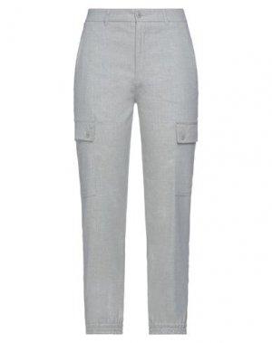 Повседневные брюки DRYKORN. Цвет: светло-серый