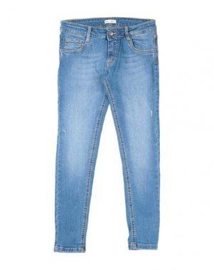 Джинсовые брюки ICE ICEBERG. Цвет: синий