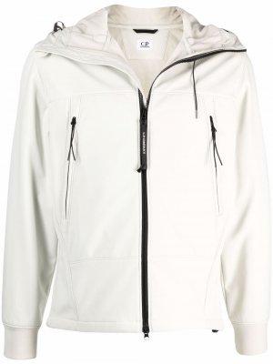 Легкая куртка C.P. Company. Цвет: нейтральные цвета