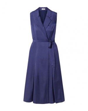 Платье миди JASON WU. Цвет: темно-синий
