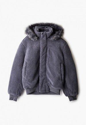 Куртка утепленная Tommy Hilfiger Lewis Hamilton. Цвет: серый