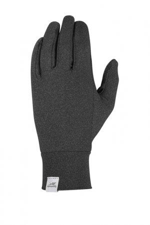 Утепленные перчатки для бега Reebok. Цвет: черный