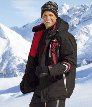 Парка Лыжный Спорт Atlas For Men. Цвет: черный