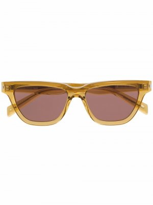 Солнцезащитные очки SL 462 Saint Laurent Eyewear. Цвет: желтый