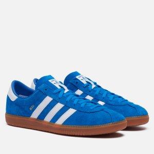 Мужские кроссовки Bleu adidas Originals. Цвет: синий