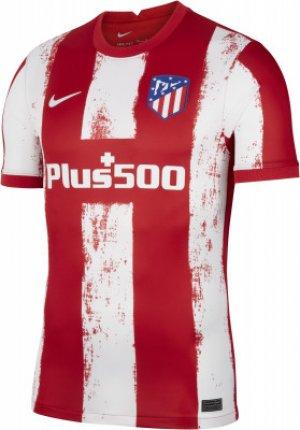 Футболка мужская Atletico Madrid 2021/22 Stadium Home, размер 44-46 Nike. Цвет: красный