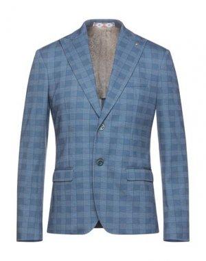 Пиджак HAVANA & CO.. Цвет: лазурный